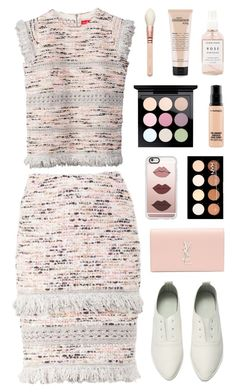 """""""baby you should know that"""" by bestraan ❤ liked on Polyvore featuring Yves Saint Laurent, Casetify, NYX, MAC Cosmetics and Herbivore Botanicals"""
