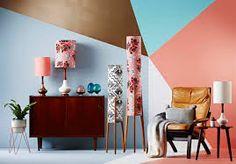 Afbeeldingsresultaat voor trio lamp vintage standing lamp fabric