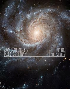 The Fault In Our Stars - John Green - Some Infinities Are Bigger Than Other Infinities