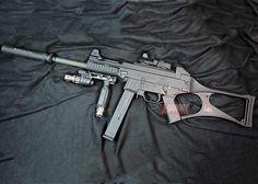 Heckler & Koch USC GBB Armas Airsoft, Heckler & Koch, Semper Fidelis, Steel Barrel, Custom Guns, Home Of The Brave, Land Of The Free, Firearms, Badass