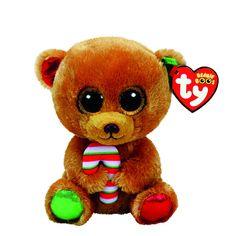 TY Beanie Boo Bella the Bear Small Plush Toy  a465e41769d8