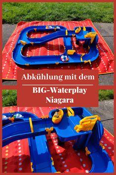 Abkühlung mit dem BIG Waterplay Niagara, Spielzeug, Kinder, Familie, Spielen, Geschenk, Sommer, Wasserspaß, Wasserspiele