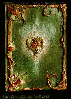 """Earth Witch: #Earth #Witch ~ """"Herbal Spells Notebook,"""" by Gwillieth, at deviantART."""