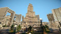 Futuristic City - Area 73-5 Minecraft Project