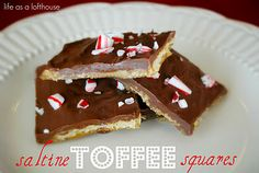Saltine Toffee Squares - Life In The Lofthouse