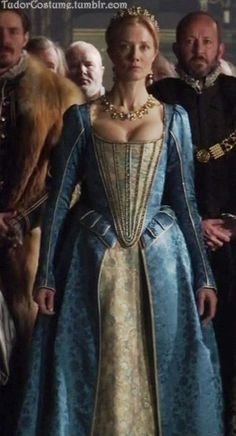 Catherine Parr's Blue Gown (The Tudors, 2007).