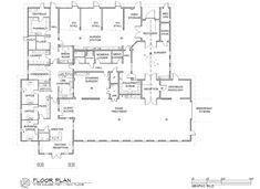 Floor plan - Main hospital  | Hospital Design