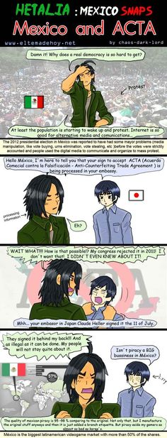 Mexico and ACTA by chaos-dark-lord on DeviantArt