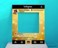 Photocall Marco Instagram Para bodas, cumpleaños y eventos. #photocall #instagram #photocallpolaroid #photobooth