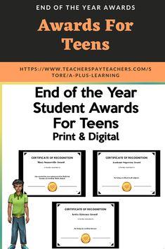 Digital Certificate, Student Awards, Classroom Resources, High School Students, Teacher, Teen, Math, Learning, Professor