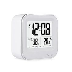 DBPOWER LinckclockII Kreative Intelligenz Wecker LCD Alarm Clock Thermometer Wecker(LCD-Bildschirm, Mit Temperaturanzeige, Kalender, Unterstuetzen Sie Die Night Light Off) Smart Uhr