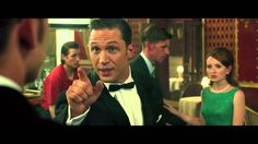 - Legend Tom Hardy as Ronald Kray / Reginald Kray. Identical twin gangsters Ronald and Reginald Kray terrorize London during the and Stars: Tom Hardy, Taron Egerton, Emily Browning, David Thewlis Ron Kray, Tom Hardy Legend, Legend 2015, Emily Browning, Academy Award Winners, Taron Egerton, True Stories, Behind The Scenes, Twins