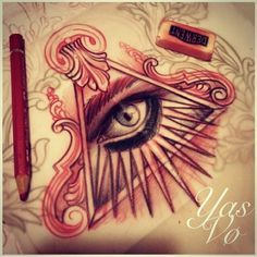 New tradicional draw - eyes Sexy Tattoos, Body Art Tattoos, Sleeve Tattoos, Cool Tattoos, Tattoo Sketches, Tattoo Drawings, Tattoo Painting, All Seeing Eye Tattoo, Kunst Tattoos