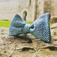 Don't be caught without this beautiful bow tie for all your upcoming Fall and Holiday events!  This may just turn out to be your go to bow tie this season! Www.bowtieclub.com (Oslo)