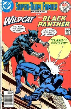 Super-Team Family: The Lost Issues!: Wildcat and The Black Panther Comic Book Artists, Comic Book Characters, Marvel Characters, Comic Character, Marvel Comic Books, Comic Book Heroes, Comic Books Art, Comic Art, Marvel Comic Universe