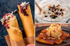 ¡Dale el toque dulce a tu día con un rico postre! Estas sugerencias son fáciles, económicas y rápidas de preparar, ¡checa todas las recetas, te fascinarán! Mexican Bread, Cooking Recipes, Healthy Recipes, Empanadas, Menu, Horchata, Plays, Ethnic Recipes, Food