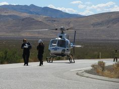 Mercy Air Medical Helicopter Crew - Mojave CA