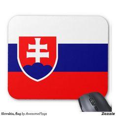 Shop Slovakia, flag mouse mat created by AwesomeFlags. Slovakia Flag, Chevrolet Logo, Create Yourself, Logos, Logo