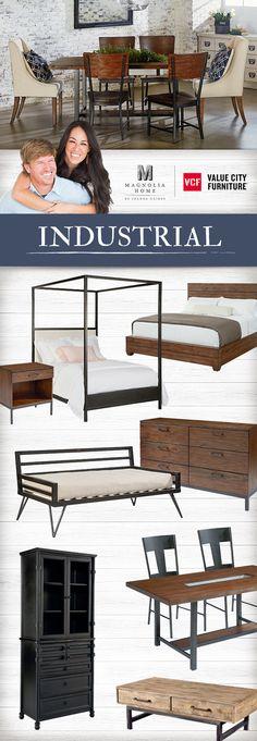 1000 images about industrial magnolia home on pinterest value city furniture bedroom. Black Bedroom Furniture Sets. Home Design Ideas