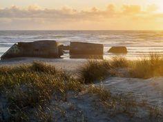 #Finistere #Bretagne  dunes de la Baie d'#Audierne à la fin du jour (8 photos) © Paul Kerrien  http://toilapol.net #myfinistere