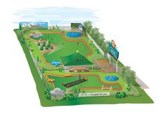 This is the final design of the 500,000-dollar Beneful Dream Dog Park that is being built in Alabaster. The park will open in the summer of 2012.