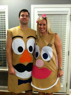 mr and mrs potato head couples costume