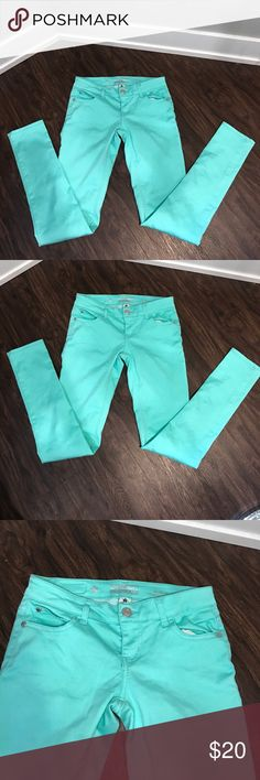 Turquoise skinny jeans Turquoise skinny jeans Celebrity Pink Pants Skinny
