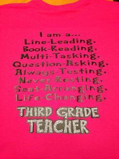 Teacher TShirt Line Leading Book Reading Life by MissyLuLus