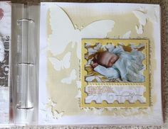 Anna's Baby Book | Thoughts, Images, & A Video Walk-Through | Ali Edwards