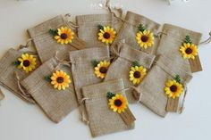 Set of 10 Personalized wedding gift for guests, Sunflower Wedding Gift, Burlap Favor Bags, Rustic Wedding Burlap Bags Favor, Sunflower Party Natural Jute Burlap Bag for Favors. This item is great for Sunflower wedding or Sunflowe Sunflower Wedding Favors, Sunflower Party, Beach Wedding Favors, Personalized Wedding Favors, Wedding Favors For Guests, Unique Wedding Favors, Rustic Wedding, Wedding Burlap, Handmade Wedding
