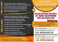 GWG's special offer for national diploma course in India at attractive cost. greenwgroup.co.in/national-safety-diploma-course/ ‪#‎onlinediplomacourse‬