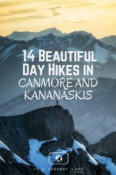 A list of the best hikes around Canmore and Kananaskis Country with detailed descriptions, length, elevation changes and much more. An informative post to help hikers choose their next best hike in the Canadian Rockies Canadian Travel, Canadian Rockies, Lac Louise, Alberta Travel, Road Trip, Hiking Photography, Backyard Camping, Hiking Tips, Banff Hiking