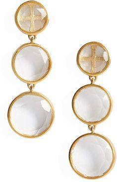 See the Women's Dean Davidson Iconic Triple Drop Earrings. Mother Of Pearl Earrings, Pearl And Diamond Earrings, Drop Earrings, Bridal Earrings, Flower Earrings, Boho Earrings, Chandelier Earrings, Vintage Earrings, Pearl Jewelry
