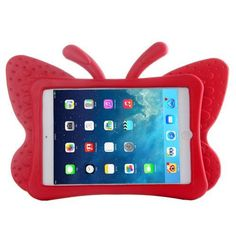 For+iPad+Mini+1/2/3+Red+Butterfly+EVA+Protective+Case+with+Holder