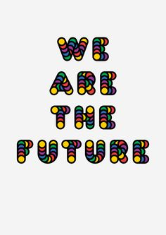 Futurist Statement #1, poster submitted and designed by James Cotton (2013) –Type OnlyUnit Editions