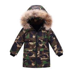 MOF Kids sweatshirts infant baby boy sweat suit cartoon animal print Boys Winter Coats, Kids Coats, Winter Kids, Baby Winter, Winter Camo, Winter Sport, Winter Parka, Puffer Coat With Fur, Kids Clothes Boys
