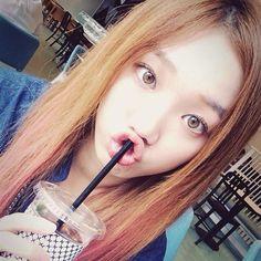 Hazel Eyes, Golden Reddish hair