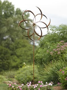 Extra Large Feather Spinner | Buy from Gardener's Supply. Need one for the front yard!