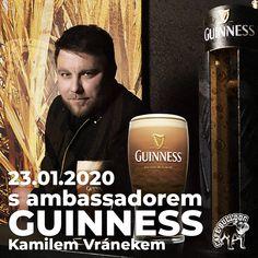 Večer s ambassadorem Guinness v Cafe Bulldog Guinness, Whisky, Brewing, Whiskey