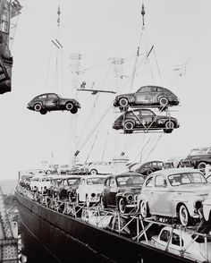 Volvo PV 444, bound for America, 1957. Volvo PV 444 (1943–1958)