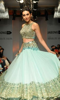 Karishma Kapoor for http://ArpitaMehta.in/ @ Lakme Fashion Week #LFW Summer/Resort 2014
