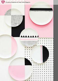 Colour Pops by hearthomemag, Charlotte love. Joanna Henderson