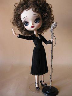 | Dal Maretti as Edith Piaf | Her wonderful attire was made by Janet Ellis as La Boutique.