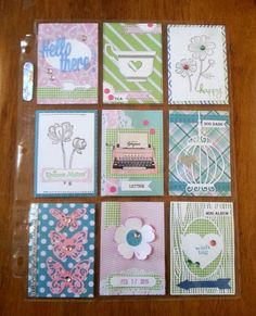 AnnMarie's Stamping Adventures!!: More pocket letter fun!