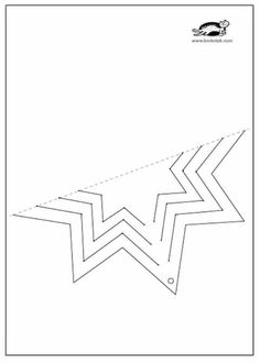 children activities, more than 2000 coloring pages Paper Snowflakes, Paper Stars, Diy And Crafts, Christmas Crafts, Paper Crafts, Origami Toys, Office Christmas Decorations, Montessori Art, Colorful Drawings