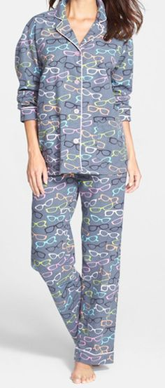 Such cute grey PJ's!! Would love to lounge all day in these