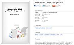 Curso de SEO y Marketing Online, libro digital gratuito de 162 paginas  para aprender a posicionar nuestros sitios