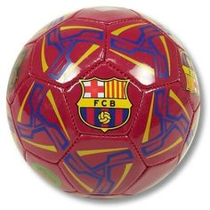 FC BARCELONA SOCCER OFFICIAL SIZE 2 SOCCER BALL by F.C. Barcelona. $15.50. This terrific mini soccer ball is loaded with official logos. About half the size of a regulation soccer ball (size 2). Great for little kids or for fun play in small spaces. Perfect for display or fun play. Designed for all weather conditions. Makes a great bookshelf decoration. Great for the dorm room or den. Arrives fully inflated. Designed with a needle receptacle if re-inflation is ever needed. Of...