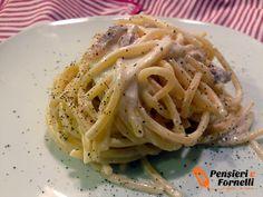 Spaghetti cacio ricotta e pepe