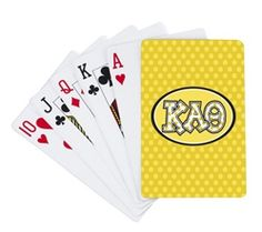 Kappa Alpha Theta playing cards